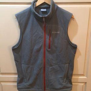 Columbia sportswear fleece vest m